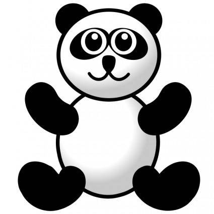 free vector Panda toy