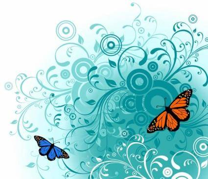 free vector Free Butterfly Vector Art