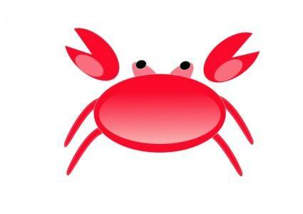 free vector A red crab2