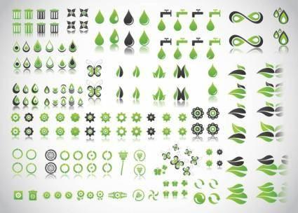 free vector Green Planet Vectors
