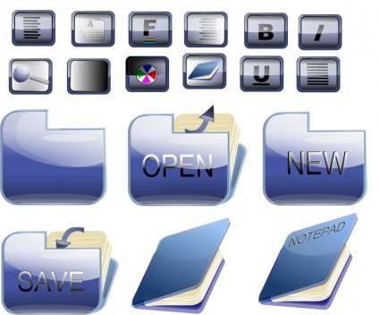 Bkue folder icons