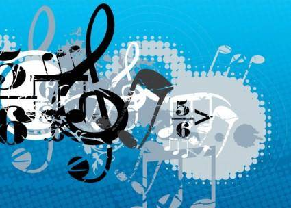 free vector Music Composition