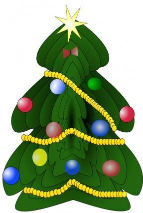 free vector Christmas tree