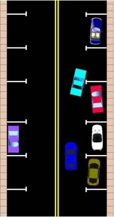 free vector Parallel Parking