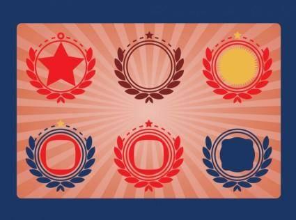 free vector Military Emblems Vectors
