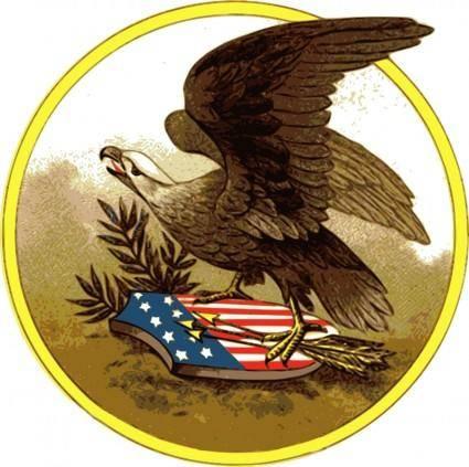free vector American eagle