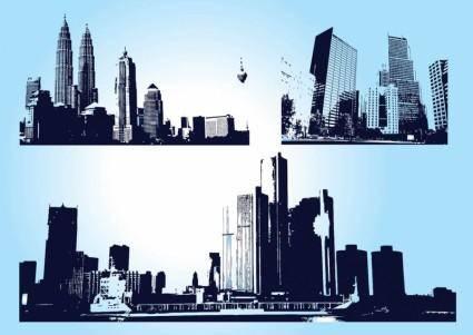 free vector Skyscraper City Graphics