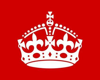 free vector British Crown by Rones