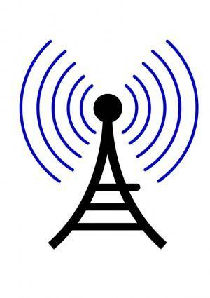 Radio wireless tower cor