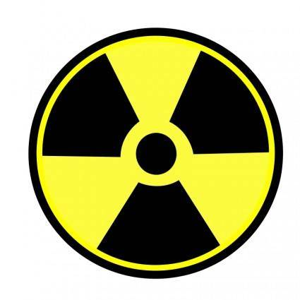 Radioactive sign 01