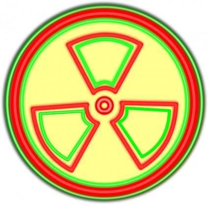 free vector Radioacrive Sign