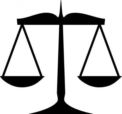 free vector Scales of justice