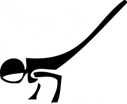 free vector Architetto -- sport mayuzasana