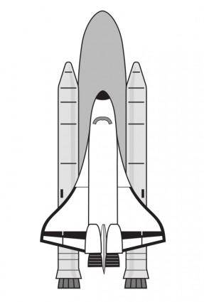 free vector NASA Space Shuttle