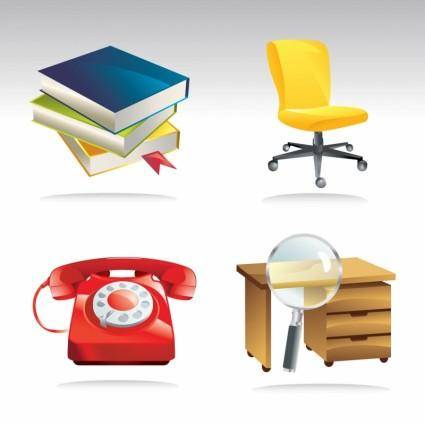 Office Vector Clip Art