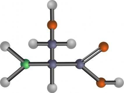 free vector Serine (amino acid)
