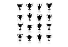 Black symbols - trophies
