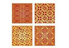 free vector China pattern design