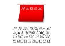 free vector Washing symbols