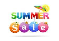 free vector Summer sale