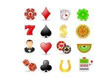 free vector Gambling and luck icon