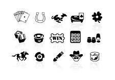 free vector Gambling icons