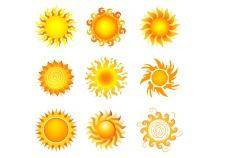 free vector Suns