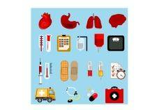 free vector Medical icons set