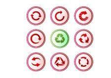 free vector Arrows buttons.