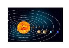free vector Earths solar system