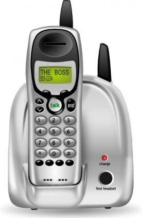 free vector Cordless Phone clip art