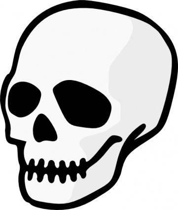 Purzen Skull clip art