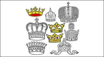 free vector Vector crown-2