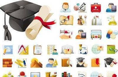 free vector Education & Science 45 Icons Sets