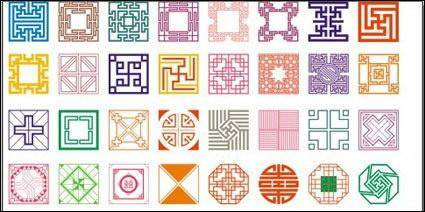 free vector Classical pattern vector