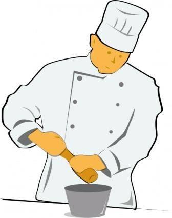 free vector Chef clip art