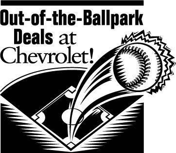 free vector Chevrolet Ballpark Deals