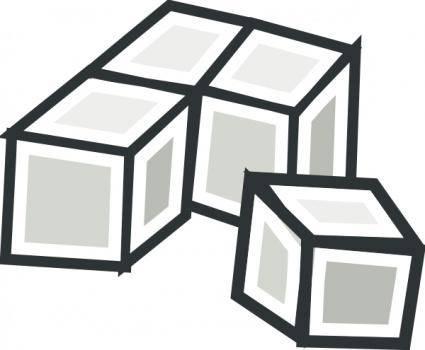Tofu Cubes clip art