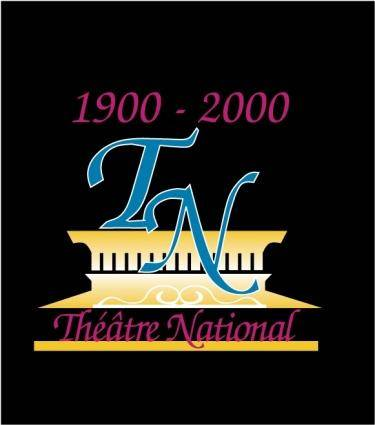free vector Theatre National logo