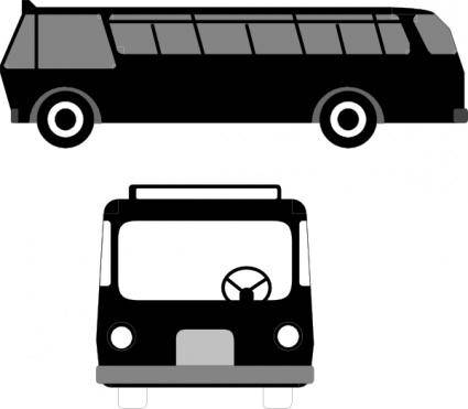 Bus Transportation clip art