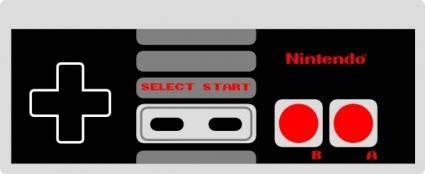Nintendo Controller clip art