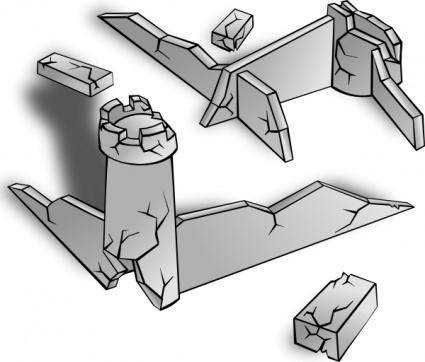 free vector Ruins clip art