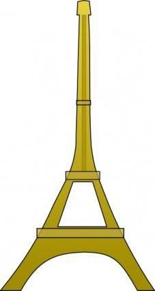 free vector Eiffel Tower clip art