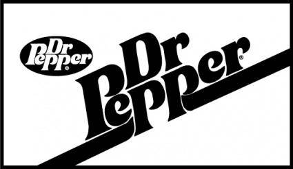 free vector Dr Pepper logo2