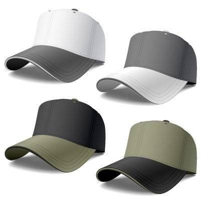 free vector Baseball Caps
