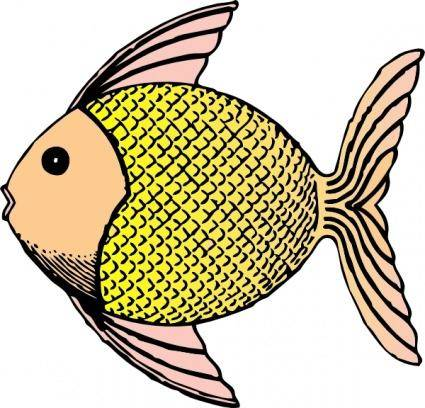 free vector Tropical Fish clip art