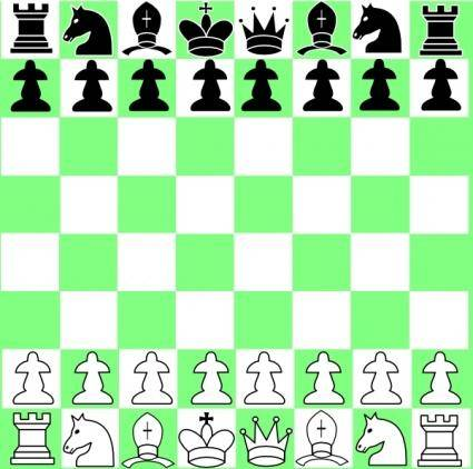 Yet Another Chess Game clip art