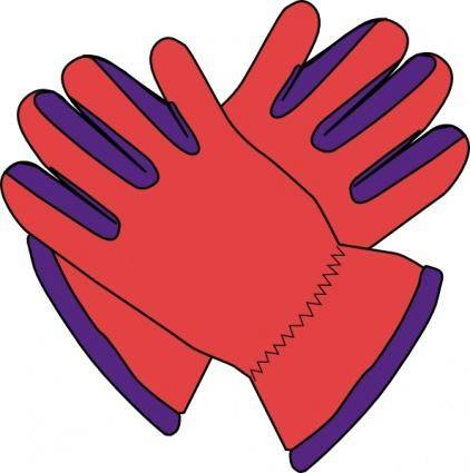 Gloves clip art