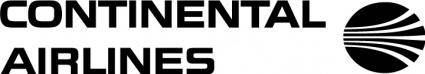 free vector Continental Airlines logo