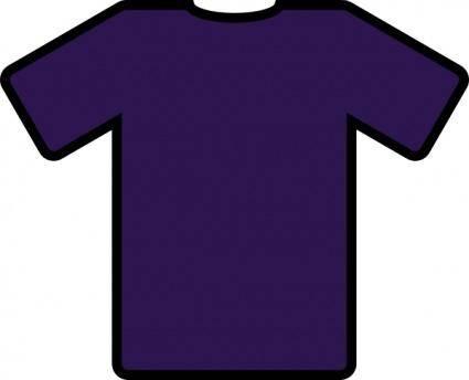 Blue T Shirt clip art